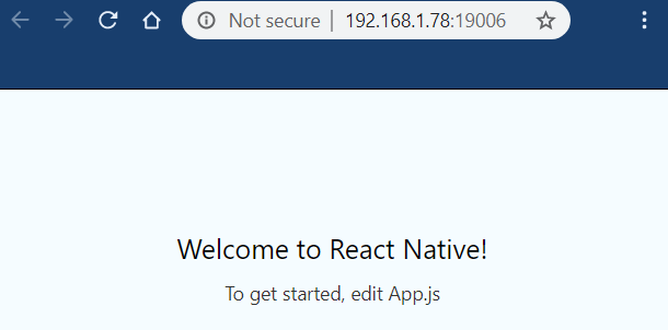 react native tutorial introduction
