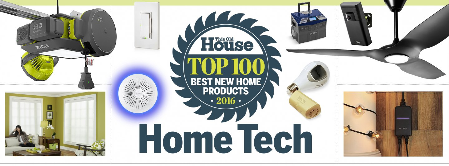 Lennox S30 featured as Best New Home Tech of 2016 Illustration