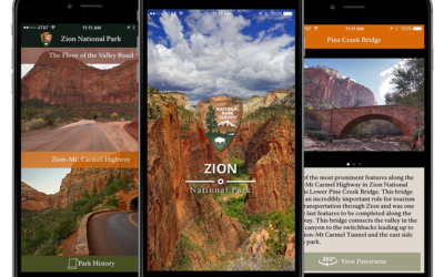 Innovative Zion National Park App 1.0 Released